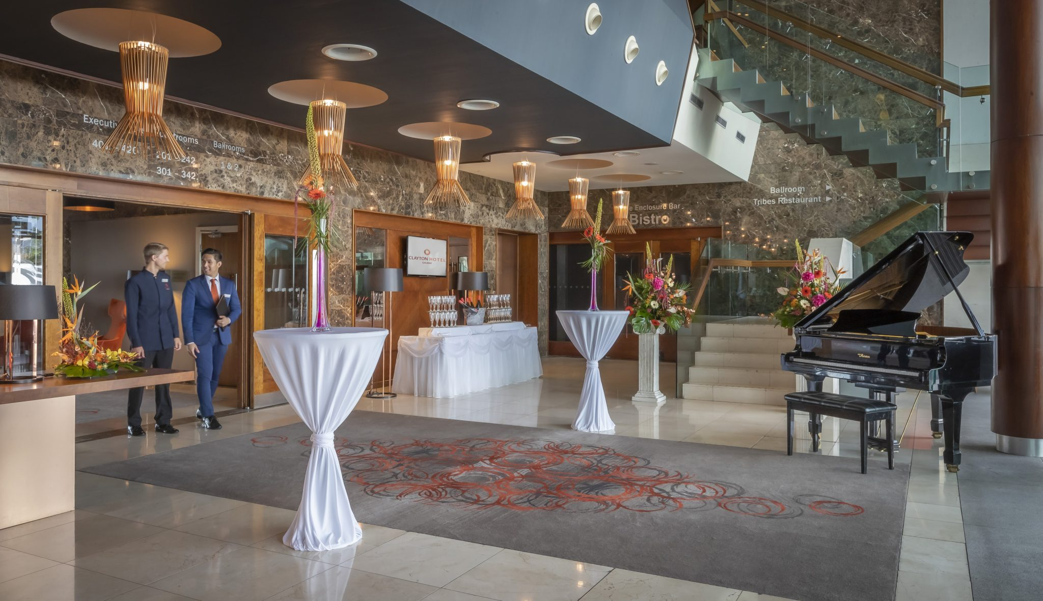 Drinks reception for events and weddings at Clayton Hotel Galway
